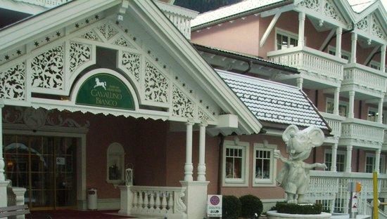Cavallino Bianco Family Spa Grand Hotel : Ingresso