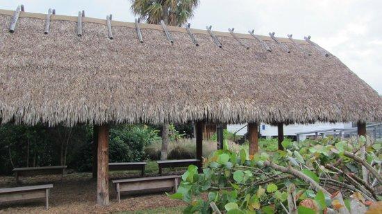 """Jupiter Inlet Lighthouse & Museum: Seminole """"Chickee"""""""