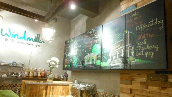 Windmills Cafe: Menu