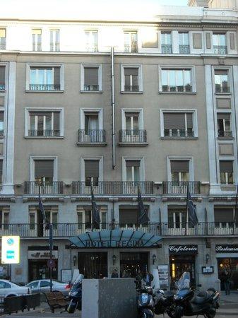 Hotel Regina : Fachada