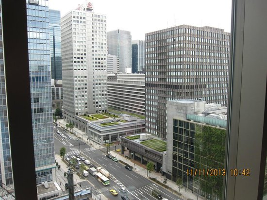 Hotel Ryumeikan Tokyo: View from the Lobby on Level 15