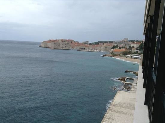 Hotel Excelsior Dubrovnik: The view from my balcony!