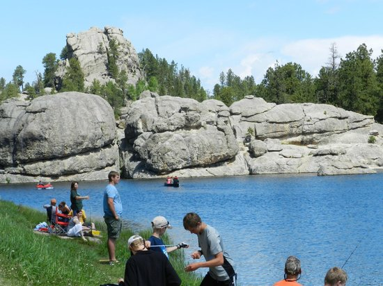 Sylvan Lake: It was busier here than thought but it wasn't a big deal