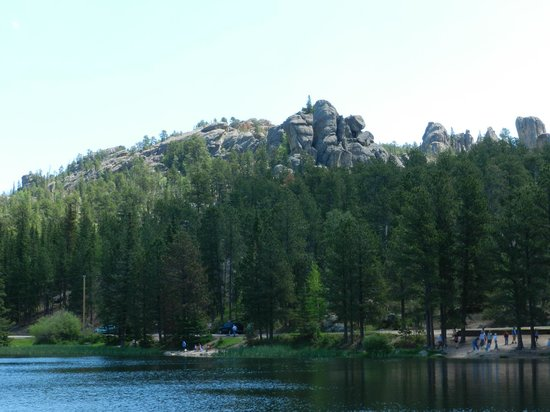 Sylvan Lake: A view from around the lake