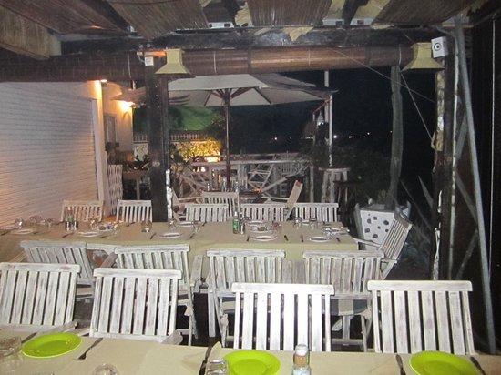 Botteghita : dining room openair