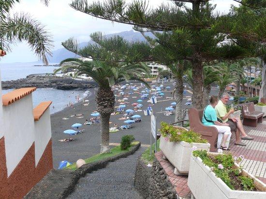 Playa de la Arena: бывают такие во время прилива