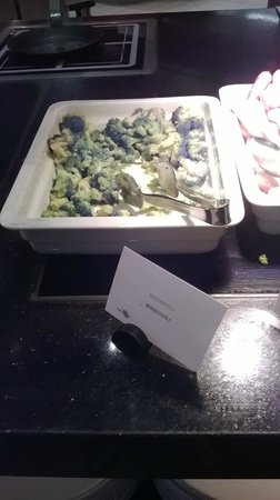 The Westin Grand Munchen: Brocolli for breakfast