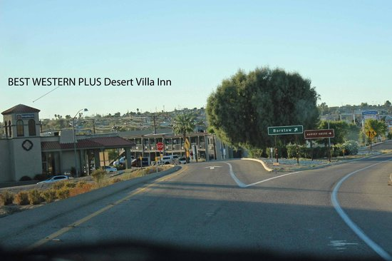 BEST WESTERN Desert Villa Inn: I40 W Exit