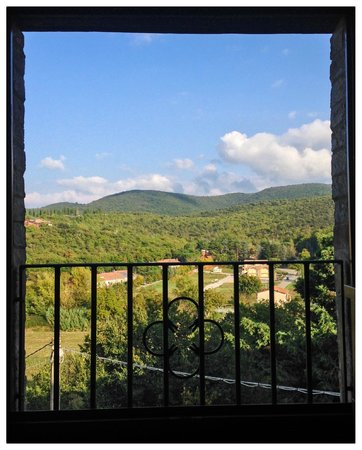 Villa Pieve Country House: A room with a view
