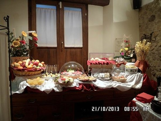Oste del Castello Wellness & Bike: che buffet