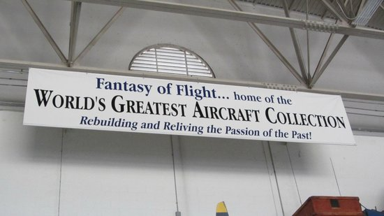 Fantasy of Flight : Absolutely!