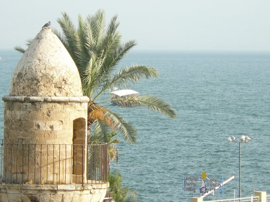 Carlton Tel Aviv: From our room looking at the sea of galilee