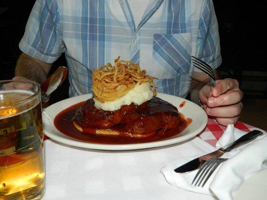 P.J. Clarke's: Mom's Mile High Meatloaf Sandwich at PJ Clarke's