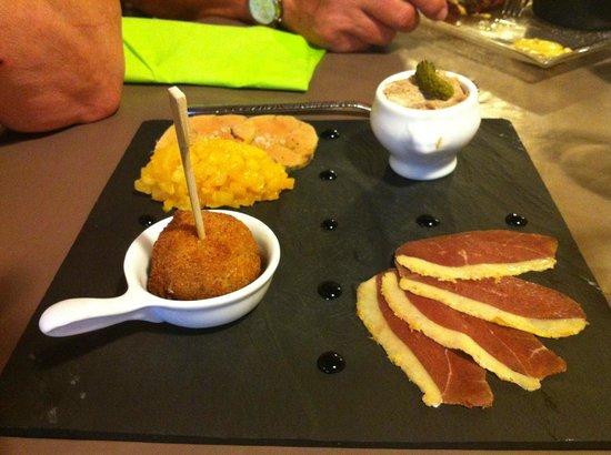 L'Escale des Bouchots: Déclinaison de foie gras
