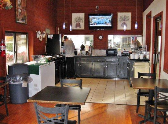 Super 8 Van Buren/Ft. Smith Area: Breakfast room
