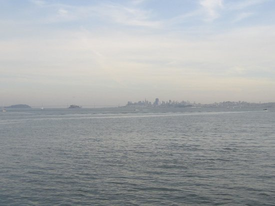 The Spinnaker : View of San Francisco from our table