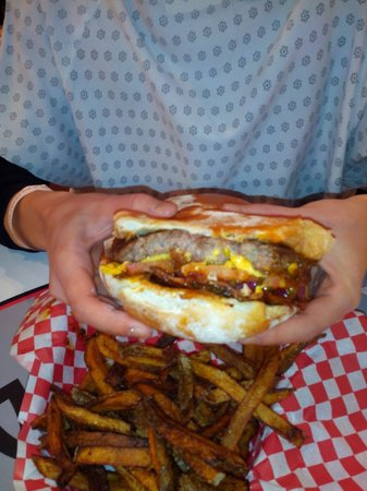 Heart Attack Grill: le simple burger !!!