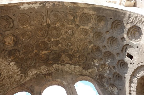 Basilica of Maxentius: roof interior