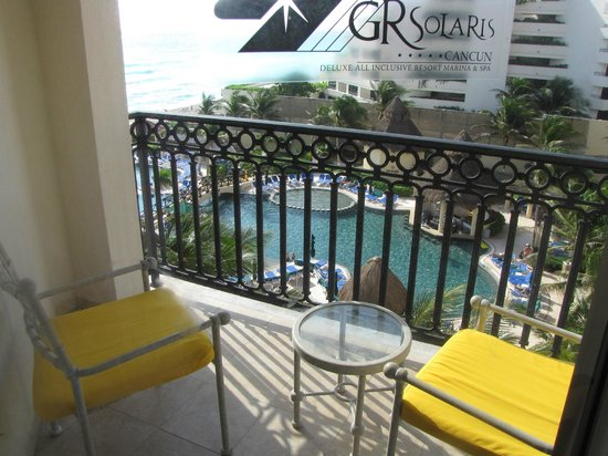 GR Solaris Cancun: our ocean view room