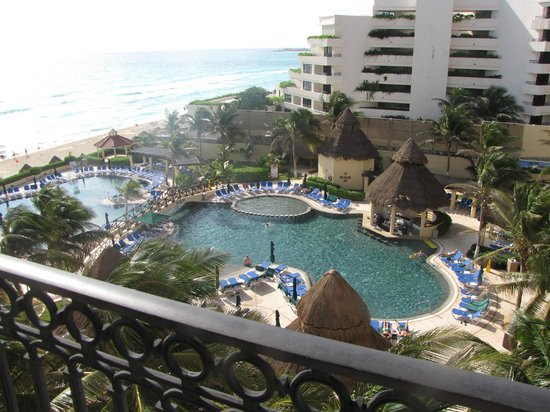 GR Solaris Cancun: our view from the ocean view room