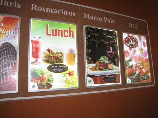 GR Solaris Cancun : different restaurants