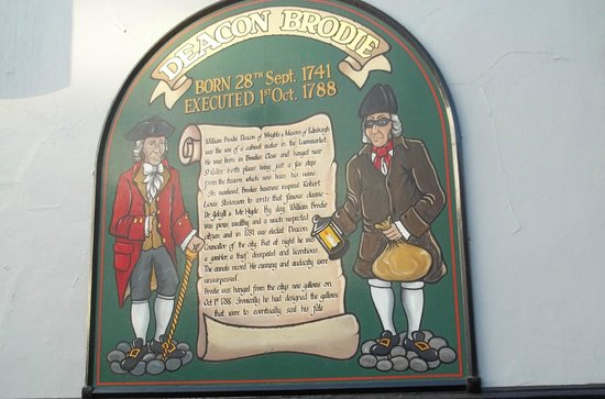 Deacon Brodie's Tavern : The tale of the real Deacon Brodie