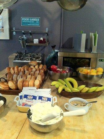Hostelling International- San Francisco/ Downtown: café da manhã