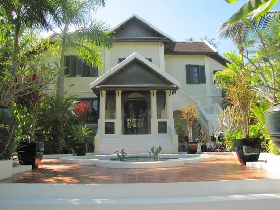 Villa Maly : Entrada