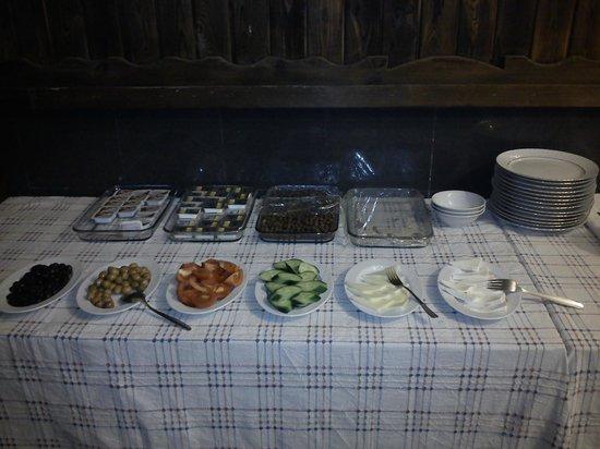 Jimmy's Place: Petit déjeuner frugal