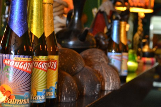 Eetcafe Ibis: Ons exotische bier: banana, coconut, palmnut en meer!