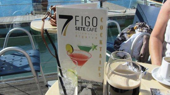 7 Cafe Figo E China Lda: menu