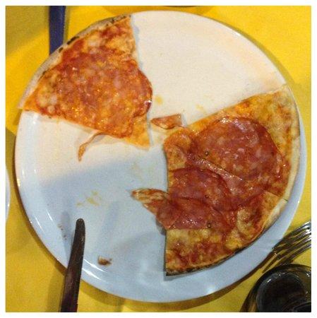La Bruschetta E : A half pie