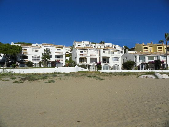 The Dona Lola Club : Partie blanche vue de la plage Novembre 2013