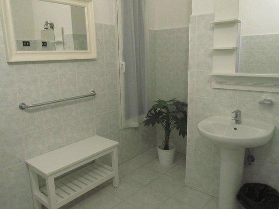Hotel Genziana: Stanza n.7 - Bagno