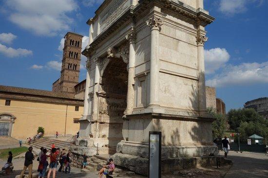 Arco di Tito : Arch of Titus