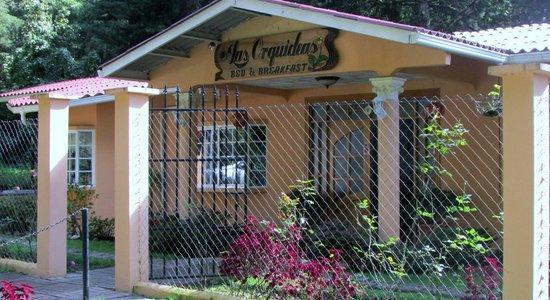Las Orquideas Bed & Breakfast: Entrance