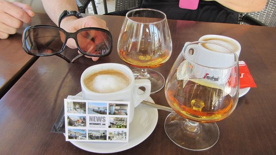 News Cafe: coffee brandies