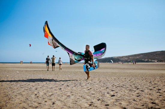 Prasonisi Beach: ветреный Prasonisi