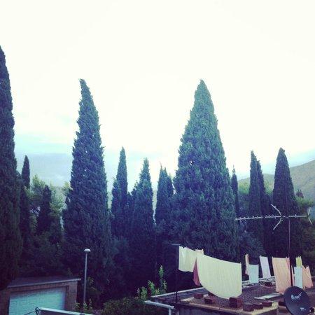 Villa Anka: Вид из  окна