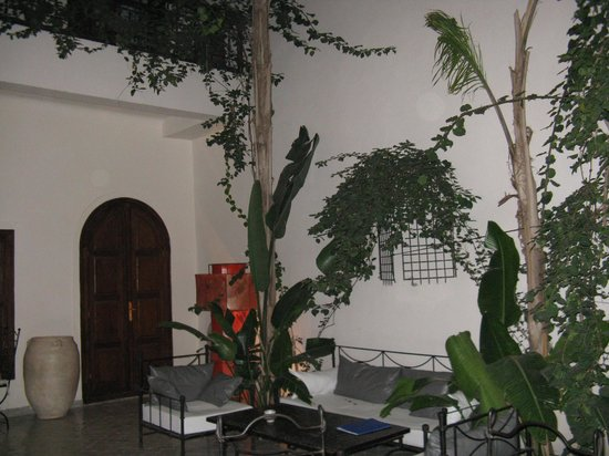 Riad 34: Cour intérieure