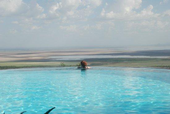 Lake Manyara Serena Lodge : бассеин