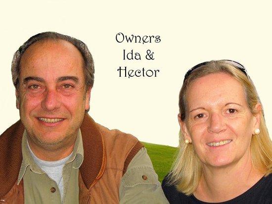 Cabañas Arco Iris: Owners