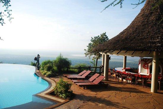 Lake Manyara Serena Lodge: утро