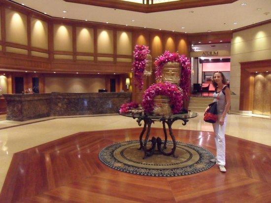 Landmark Bangkok: hall de la  reception