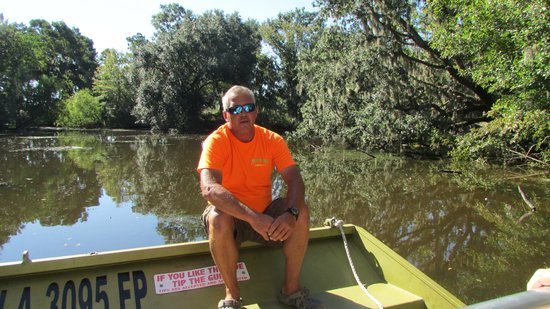 Airboat Adventures : Captain Monkey, our tour guide