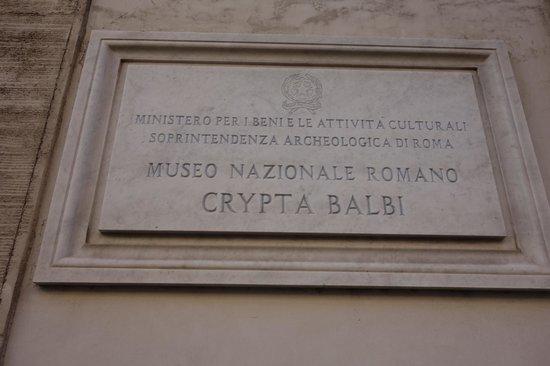 Crypta Balbi Museum