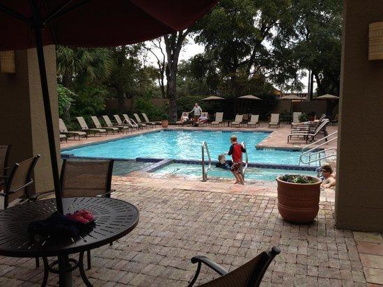 Marriott Plaza San Antonio : Pool area