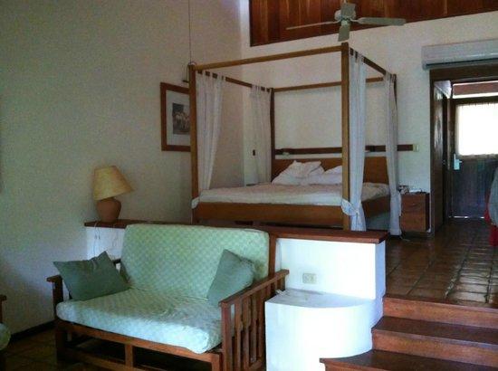 Hotel Capitan Suizo: a standard room