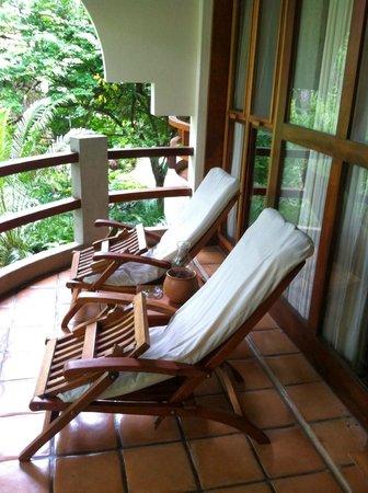 Capitan Suizo Beachfront Boutique Hotel: private balcony