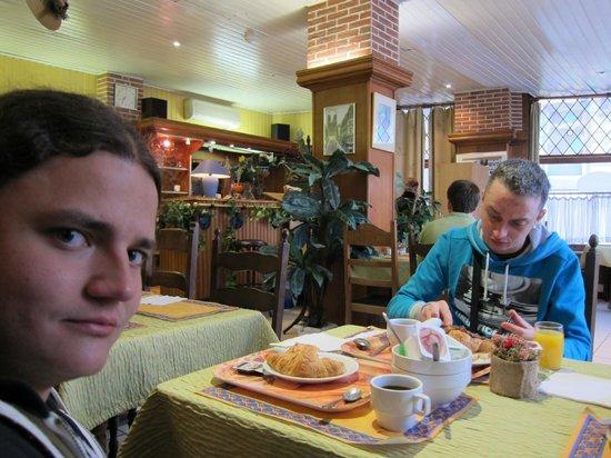 Hotel Mirabeau : Завтрак